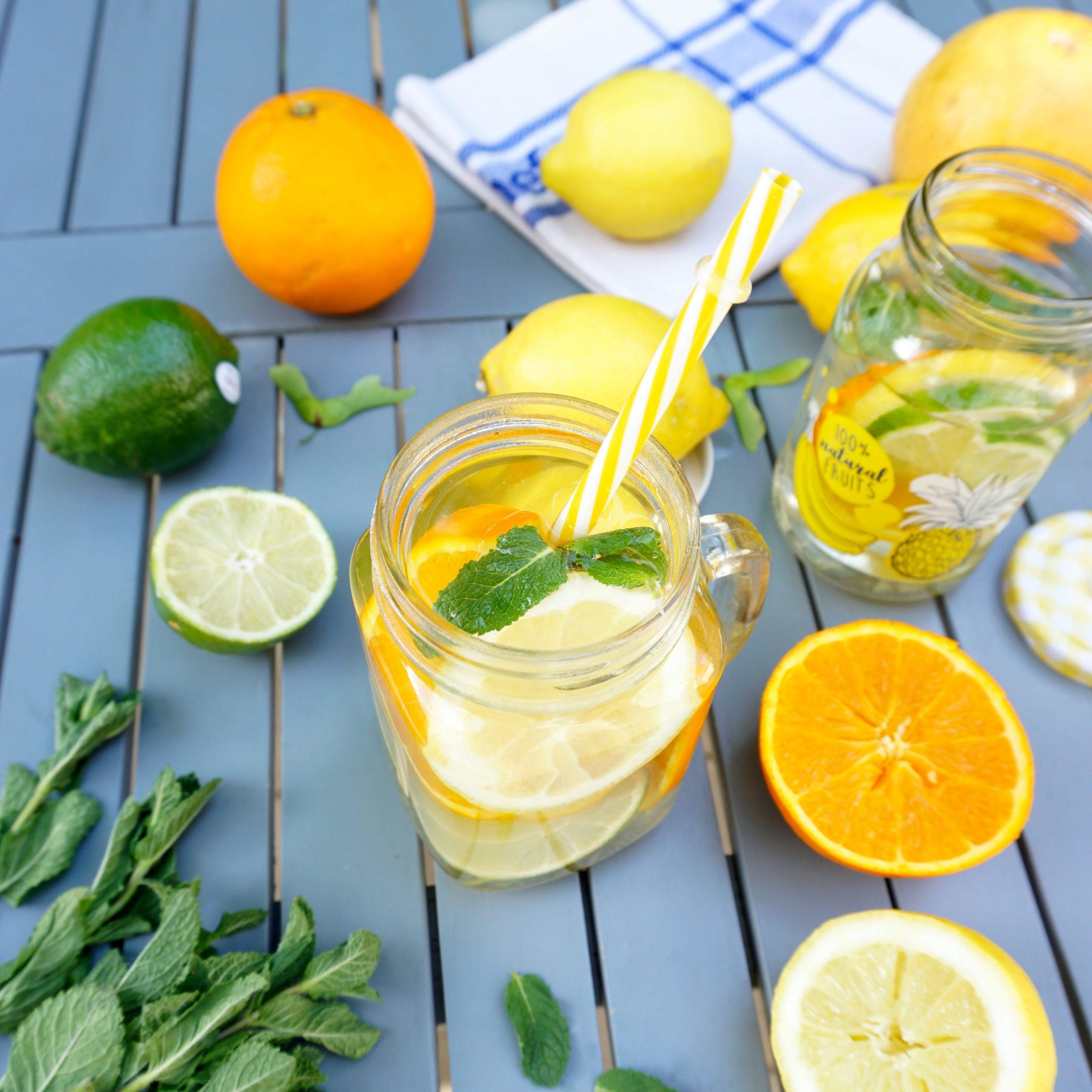 eau aromatisée