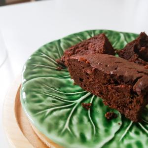 gâteau chocolat haricot