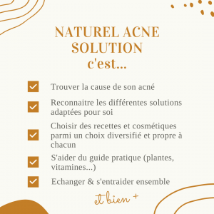 acné solution naturel